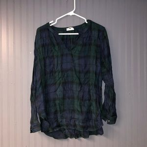 Women's loft top large